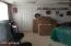 Hobby/game room in basement