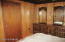 Large Room will hold an entire bedroom suite.