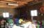 lots of storage in garage