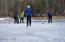 Fun for all seasons. Ice-hockey outside your back door!