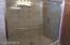 All the room you need to move around in the shower!