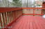 Large well maintained deck.