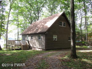 Gumble Chalet 3 Bedrooms, 1.5 baths and all Hardwood Flooring. Lake Front