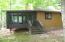Enclosed Porch has 2 Entrances.