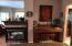 Familyroom nook fits a piano