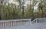Rear Deck - backs up to 1000's of acres of State Forest