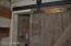 Barn door to bathroom 2nd floor in big house