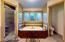 Master Bath (1): Large Shower, Tile, Whirlpool Tub, Double Vanity
