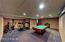 Pool Room & Private Fitness Area