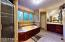 Master Bath: Large Shower, Tile, Whirlpool Tub, Double Vanity