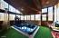 FEATURE PHOTO: Enclosed Side Deck with 12 Person Hot Tub