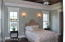 Master Bedroom and Reading Lights Above Bed