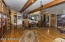 Open living room area
