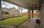 Note brick porch and columns