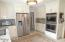 Double Ovens with Wolf Gas Cooktop