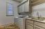 Spacious laundry room