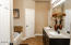 His and Her sinks with separate closets