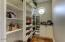 Room-sized Walk-in Pantry