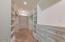 LARGE Master Closet with custom shelving + drawers