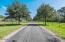 Captivating oak tree lined driveway with turn-out pastures on either side.