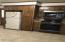 Closer view of kitchen appliances
