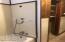 Hall bathroom's - tub and shower