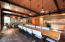 Carriage house conference room/living room/kitchen over garage