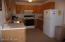The kitchen is convenient and easy to maintain.