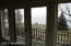 Second story balcony from the Master bedroom with views of Lake Michigan