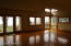 Living Room & Dining area with hardwood floors