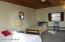 Interior of Gray Sleeping Cottage