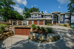 "751 South gull Lake Drive with 118' of ""All Sports"" Gull Lake waterfront!"