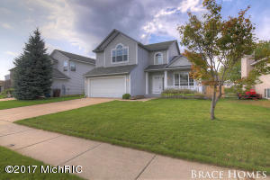 4581 BROOKMEADOW Drive Grand Rapids Home Listings - Mark Brace Real Estate Homes Condos Property For Sale