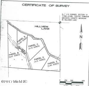 00 S Hillview Lake Drive Parcel A, Rodney, MI 49342