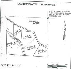 00 S Hillview Lake Drive Parcel B, Rodney, MI 49342
