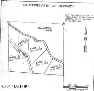 00 S Hillview Lake Drive Parcel D, Rodney, MI 49342