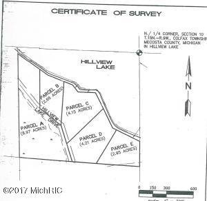 00 S Hillview Lake Drive Parcel E, Rodney, MI 49342