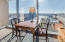 Sitting area in Master with southern views over the City of Grand Rapids and Grand River.