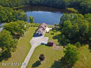 4452 N McFall Lake Drive, Branch, MI 49402