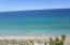 Miles of sandy beach.