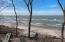 125' of private frontage and walkable beach in both directions.