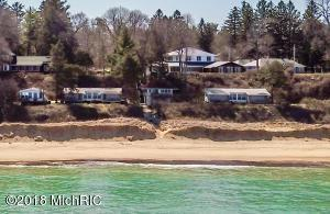 Six Beach front vintage cottages.