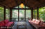 Guesthouse screened in porch