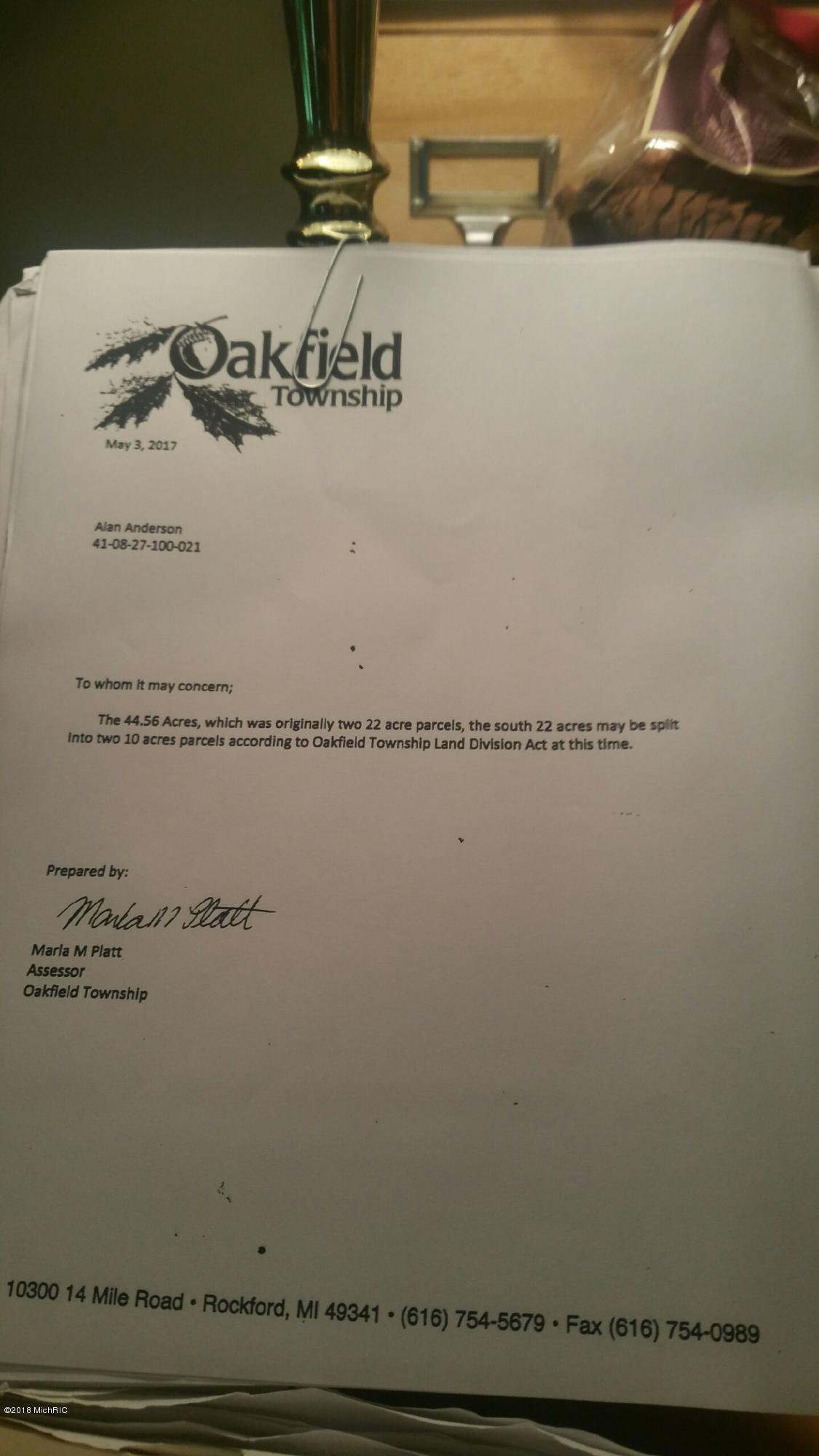Overlook split letter