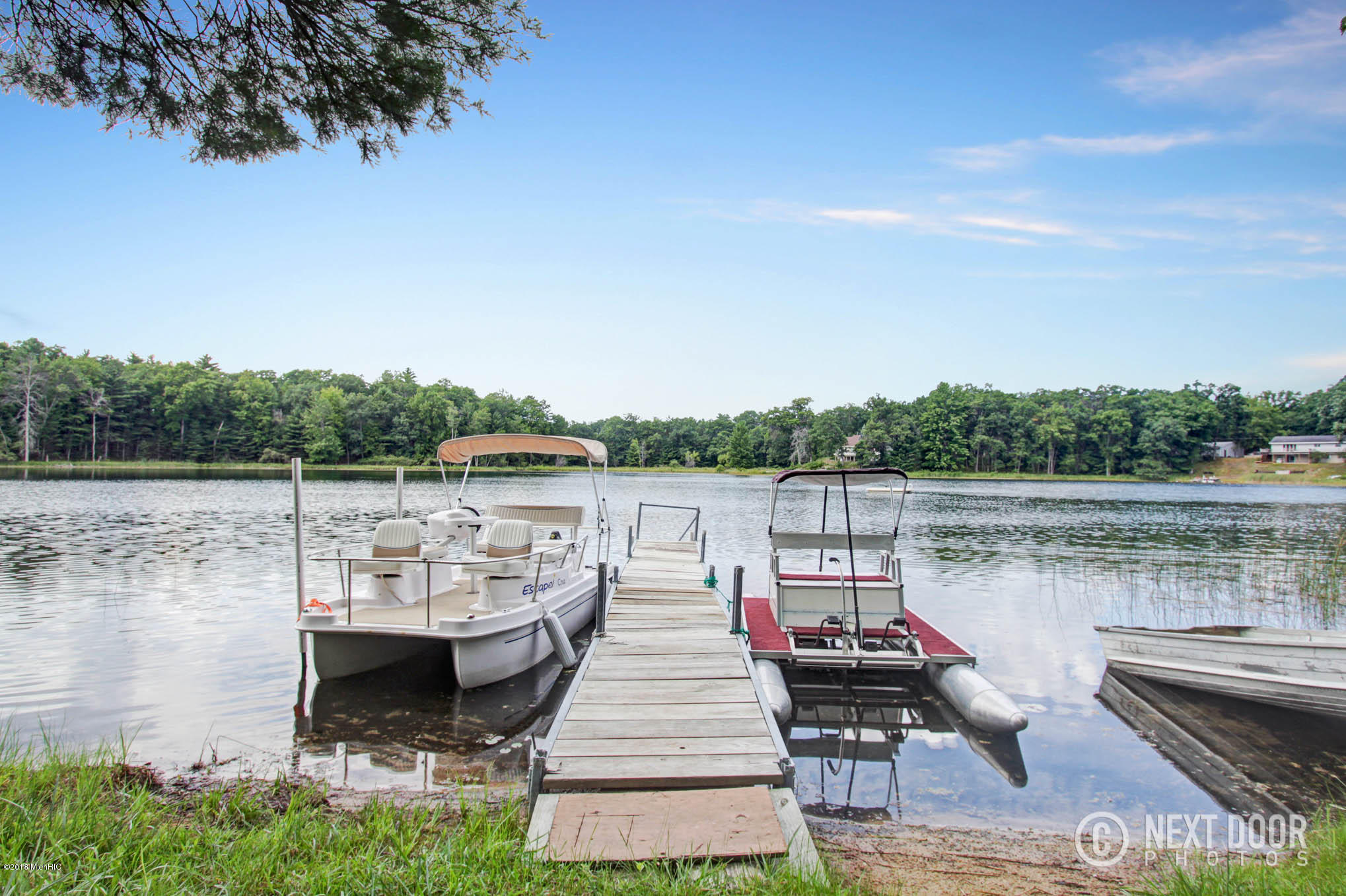 Dock and easy waterfront access