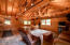 Inside the Log Guest Home