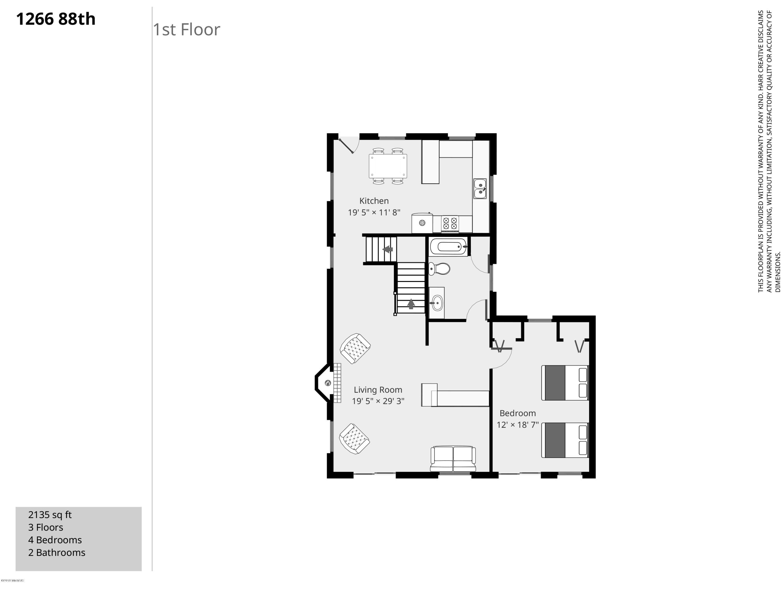 1266 88th-1st Floor