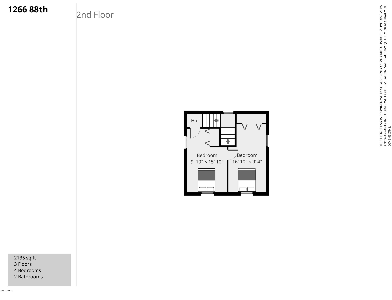 1266 88th-2nd Floor