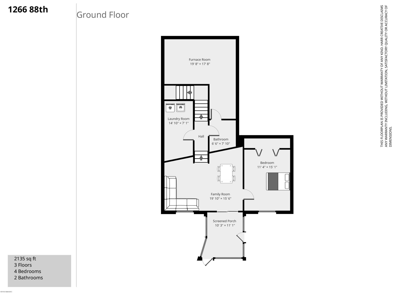 1266 88th-Ground Floor