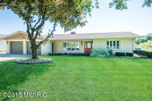 Full brick ranch with nice curb appeal